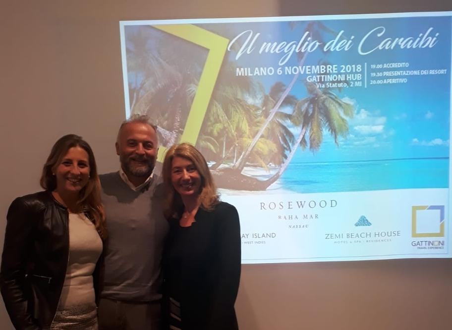 Gattinoni Mondo di Vacanze: i Caraibi nel cuore di Milano