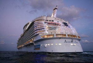 Royal Caribbean inaugura le crociere da Civitavecchia su Allure of the Seas