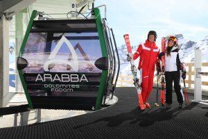 Arabba: la stagione va a gonfie vele, dicembre +15% e bel tempo a richiamare i turisti