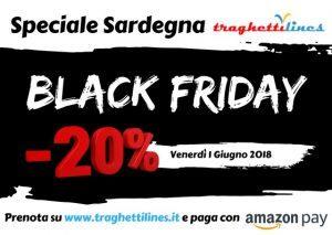 "Traghettilines lancia il ""Black Friday"" in Sardegna"