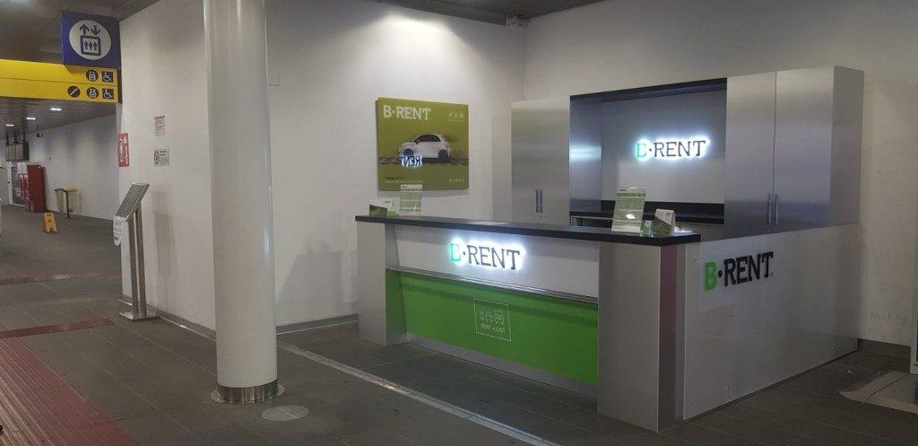 B-Rent: cresce l'offerta in stazioni ferroviarie e aeroporti