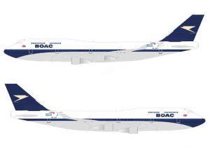 British Airways, per i 100 anni quattro velivoli dipinti in stile retrò