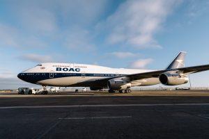 British Airways, debutta nel programma di volo la storica livrea Boac
