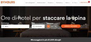 ByHours, camere d'hotel visionabili sulla app a 360 gradi
