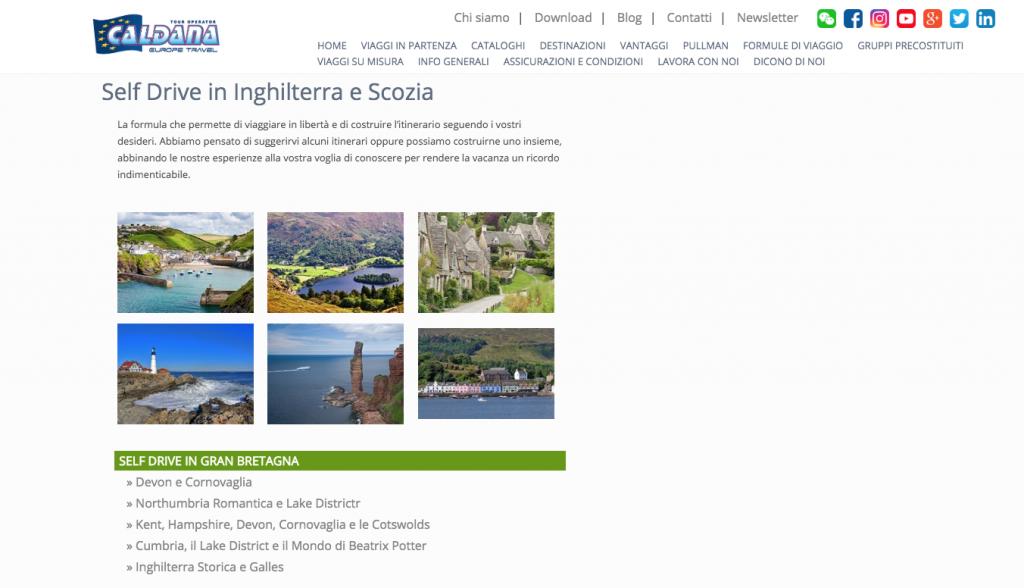Caldana Europe Travel ripropone i self drive in Gran Bretagna