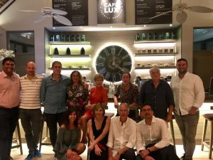 International Travel con gli agenti a Mauritius insieme a Lux e Turkish Airlines