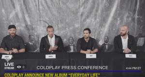 Amman è il palcoscenico dei Coldplay per il lancio del nuovo album