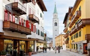 Cortina d'Ampezzo, aumentano le presenze e gli investimenti immobiliari