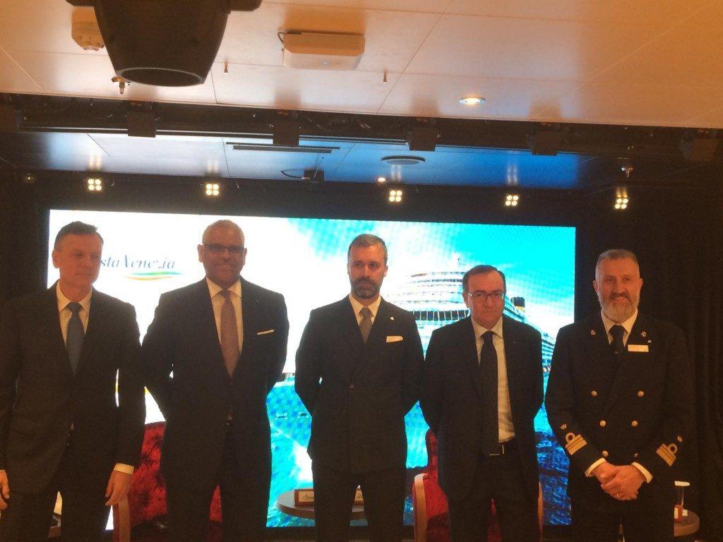 Costa Crociere: Fincantieri consegna la Costa Venezia