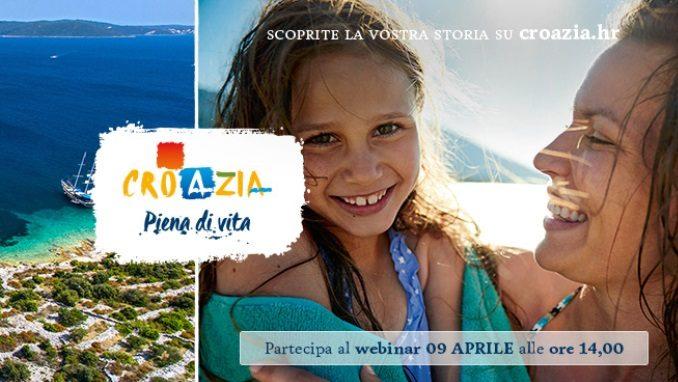 La Croazia ti aspetta! Iscriviti al webinar del 9 aprile
