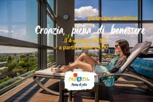 Scopri il wellness in Croazia: iscriviti al webinar del 4 ottobre