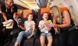 Ecco le Flybraries di easyJet: biblioteche in volo per i più piccoli