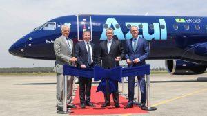 Azul accoglie in flotta il primo nuovo Embraer E195-E2