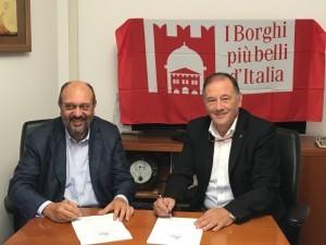 Locauto Rent sigla una partnership con I Borghi più belli d'Italia