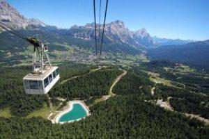 Cortina, riapre il comprensorio Tofana-Freccia nel Cielo con un carnet di eventi estivi