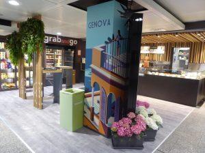 All'aeroporto di Genova arriva il Gruppo Lagardère con il nuovo Briccocafé