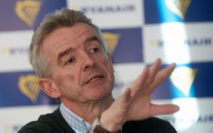 O'Leary: «Grande aumento di prenotazioni dal Regno Unito verso l'Italia»