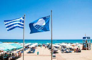 La Grecia ottiene un nuovo record di 519 spiagge Bandiera Blu