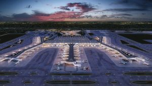 Turkish Airlines scalda i motori sulle piste dell'Istanbul New Airport