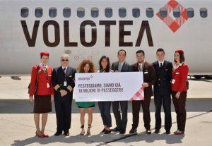 Volotea festeggia a Venezia i primi 18 milioni di passeggeri
