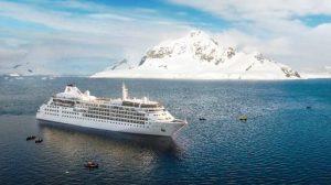 Un destino da nave polare per Silver Wind