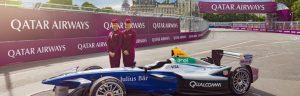 Qatar Airways sponsor delle gare di Formule E