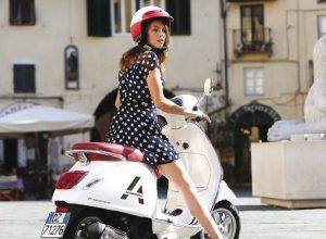 Allegroitalia, noleggio Vespa in reception per scoprire la città