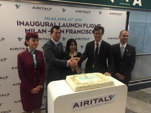 Air Italy decolla sulla Milano-San Francisco