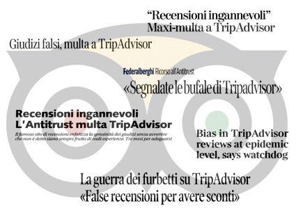 Consiglio di Stato: multa di 100 mila euro per TripAdvisor