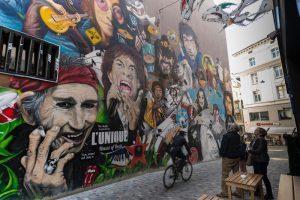 """Basilea: """"Urban experience tour"""" in limousine, sulle tracce della street art"""