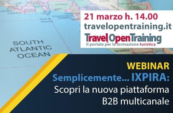 Ixpira ti aspetta: appuntamento con il webinar alle 14.00
