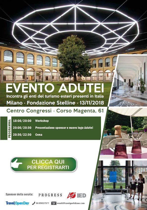 Adutei, appuntamento a Milano il 13 novembre