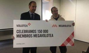 Quota 150.000 iscritti per Megavolotea, il programma fedeltà di Volotea