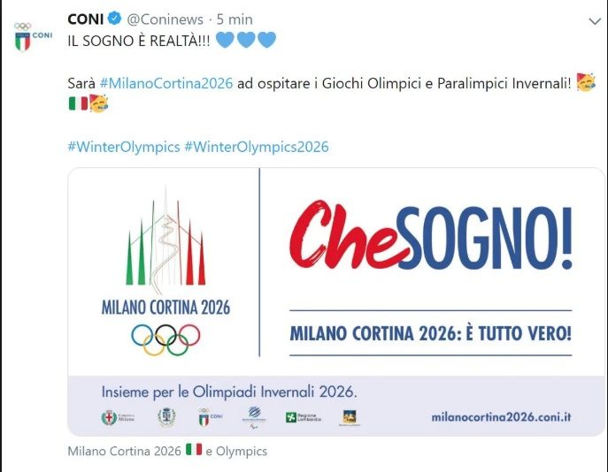 Olimpiadi 2026: un impatto da quasi 4 miliardi, soprattutto dal turismo