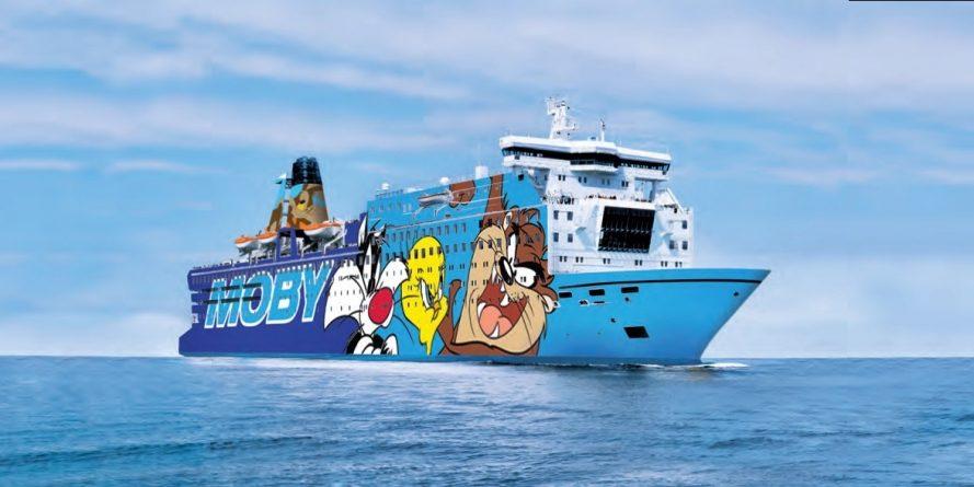 Moby e Tirrenia rinnovano accordo con Sky per i programmi a bordo