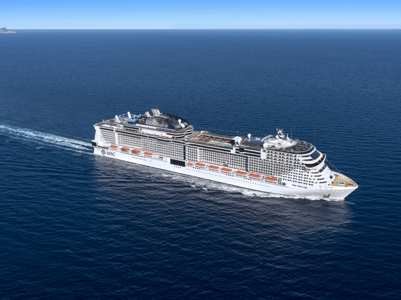 Msc Crociere: 13 nuove navi entro il 2027