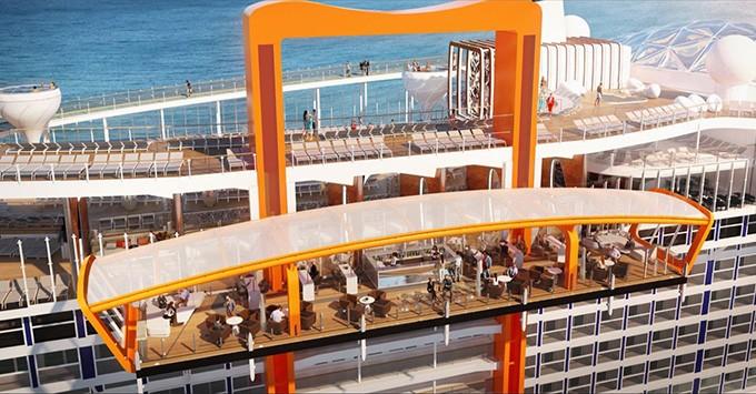 Celebrity Cruises, in arrivo a fine 2018 Celebrity Edge la nave più innovativa