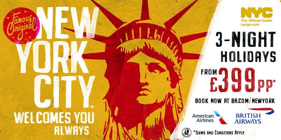 New York City, al via più grande campagna globale di marketing