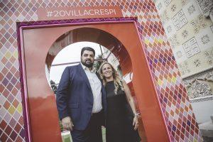 I Cannavacciuolo festeggiano i 20 anni del Villa Crespi