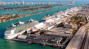 Miami: il terminal crociere più importante al mondo. In un anno 5,3 milioni di passeggeri