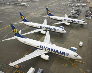Ryanair, le offerte pasquali all'interno del network europeo