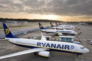 Ryanair: 93% dei voli in orario nel mese di febbraio