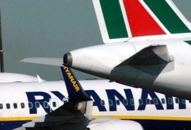 Ryanair presenta ricorso contro Alitalia alla Commissione europea
