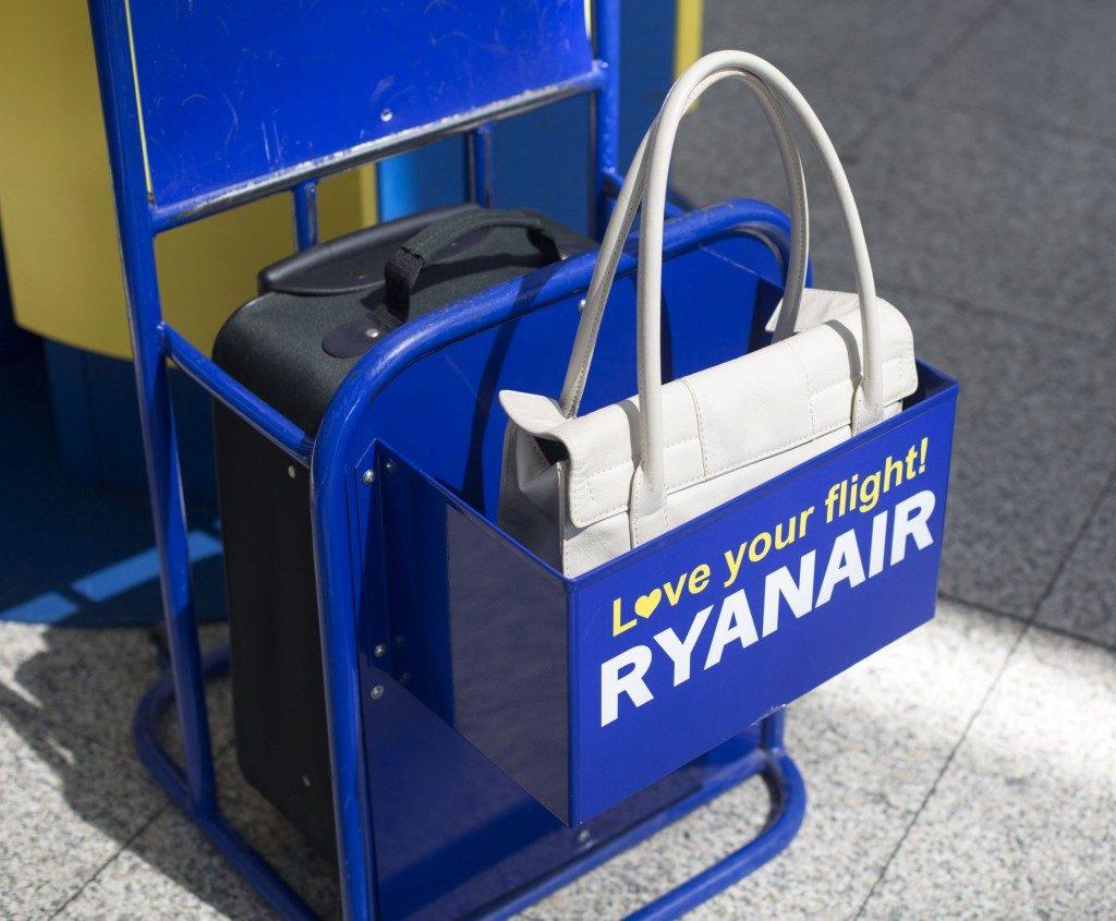 Ryanair: il Tar del Lazio dà ragione al vettore sui bagagli a mano