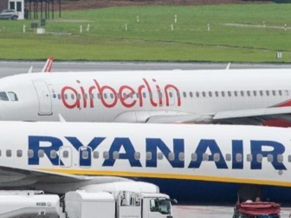 Ryanair fa marcia indietro nelle trattive per Airberlin