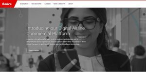 Sabre lancia Digital Airline Commecial Platform