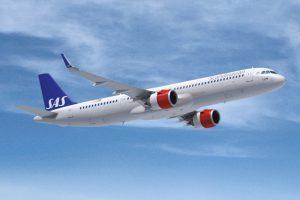 Sas: nuovo leasing per tre Airbus A321Lr