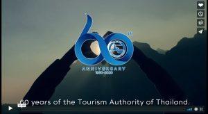 Turismo della Thailandia: un video per festeggiare i 60 anni