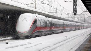 Ritardi e cancellazioni treni per neve, Piemonte e Liguria le più colpite