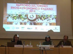 Rapporto sul turismo enogastronomico italiano 2019: l'enogastronomia cresce e si conferma importante driver di viaggio